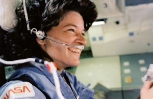 This picture was the go-to image of Sally Ride during the tribute