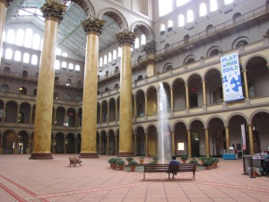 The courtyard of the Museum